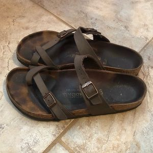 Birkenstock Brown Mayari Sandals
